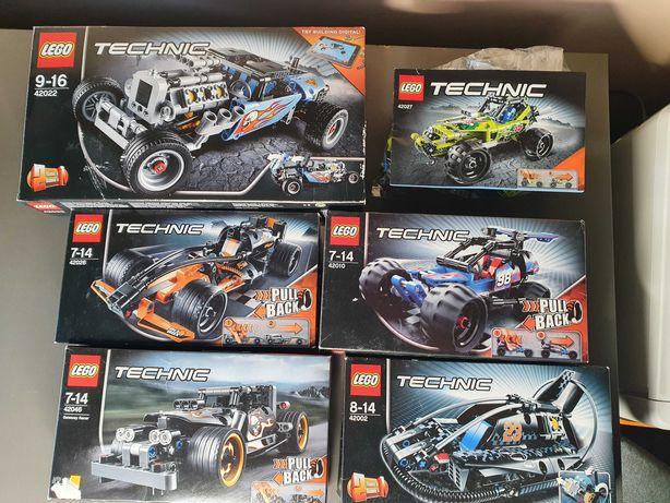 klocki Lego TECHNIC - różne zestawy, komplet