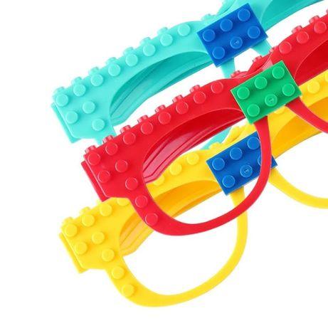 okulary klocki lego