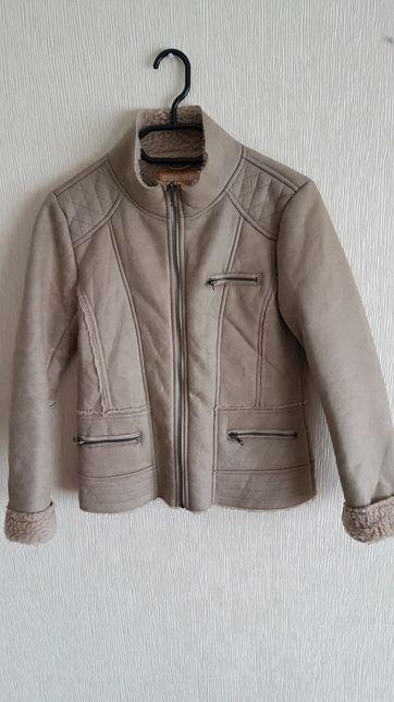 Детская куртка-дублёнка, р.152