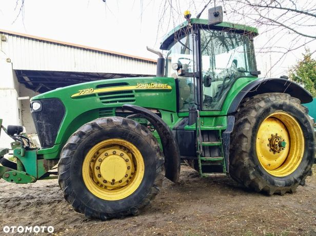 John Deere 7720  John Deere 7720 Ciągnik Rolniczy [Lokalizacja: