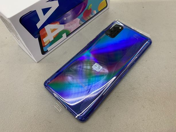 NOWY SAMSUNG GALAXY A41 64GB Niebieski Stoisko GSM w Auchan Wałbrzych