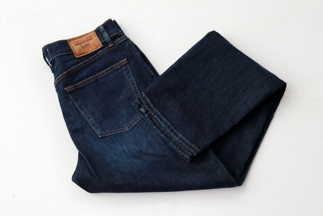 Męskie spodnie jeansy Lee Premium Select Regular Fit W32 L34