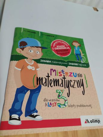 Książka dla dzieci zestaw matematyczny