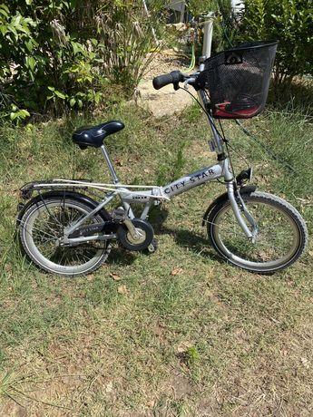 Bicicleta dobrável city star