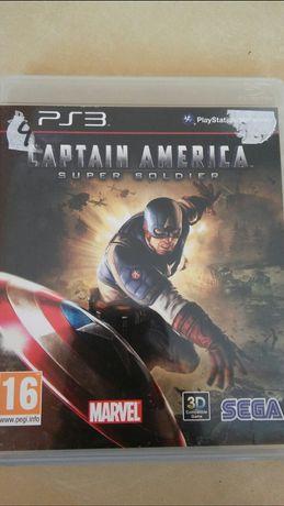 Ps3 gra Captain America super soldier