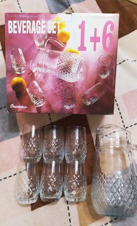 Набор стаканов и графин