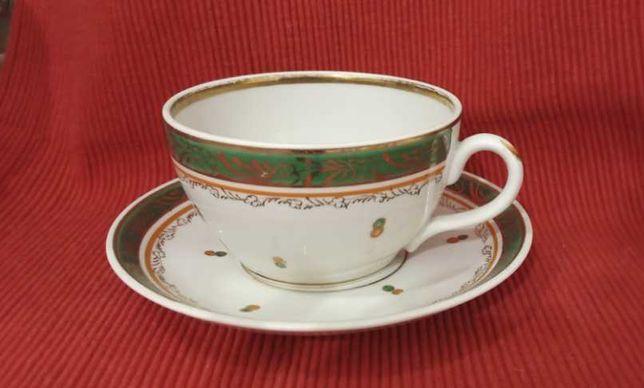 Чайний сервіз сервіс Чашка блюдце Молочник чайник ваза цукерниця набор