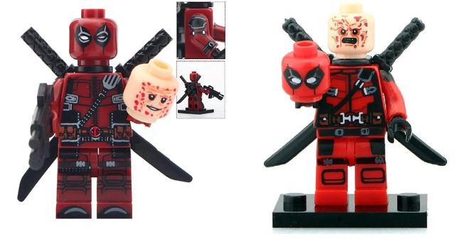 Фигурки Marvel DC лего супергерои Lego Лего Дэдпул Deadpool