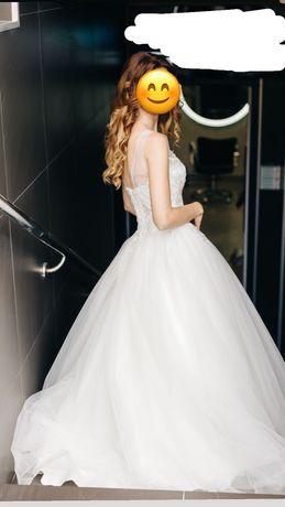 Свадебное платье размер s-m