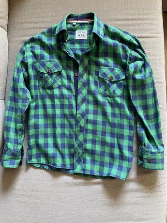 Koszula chłopięca 134 z długim rękawem