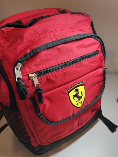 Plecak FERRARI czerwony