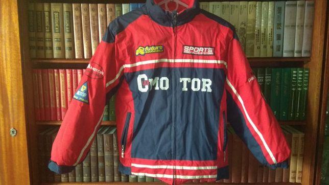 Детская одежда. Тёплая зимняя куртка Motor Club. 12 лет. 148 - 154 см
