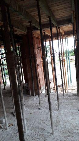 Stemple budowlane,podpory stropowe