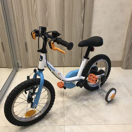 """Детский велосипед 100, 14"""" (3-4,5 лет), дизайн """"Арктика"""""""