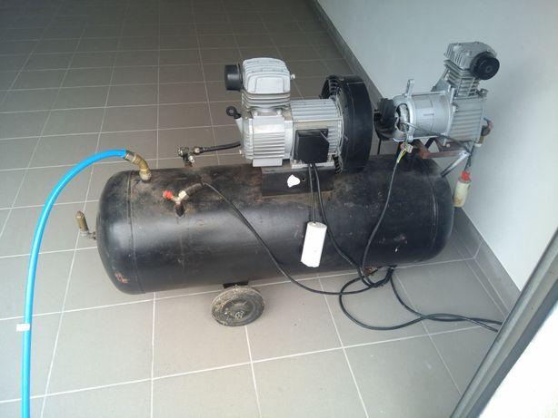 Compressor 100L com 2 motores