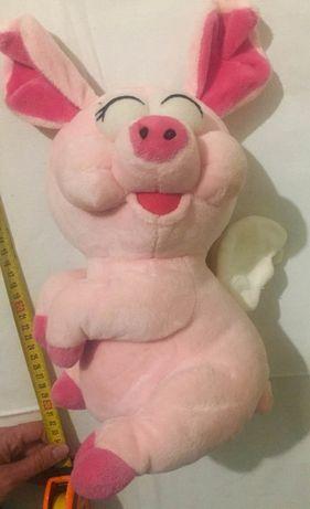 Свинка ангел 35см мягкая игрушка состояние новой