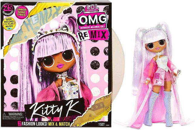 L.O.L. Surprise O.M.G. Remix Kitty K Doll ЛОЛ с музыкой Королева Китти
