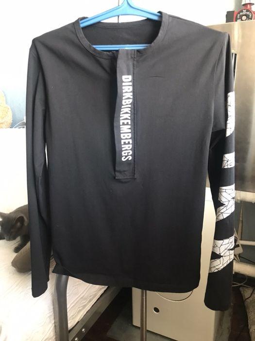 Лонгслив,футболка с рукавом Bikkembergs Изюм - изображение 1