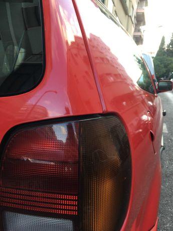 VOLKSWAGEN POLO VW 1995 1.0 3 Portas Vermelho Gasolina Urgente