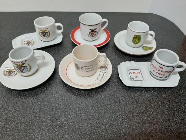 Colecção de Chávenas de Café publicitárias
