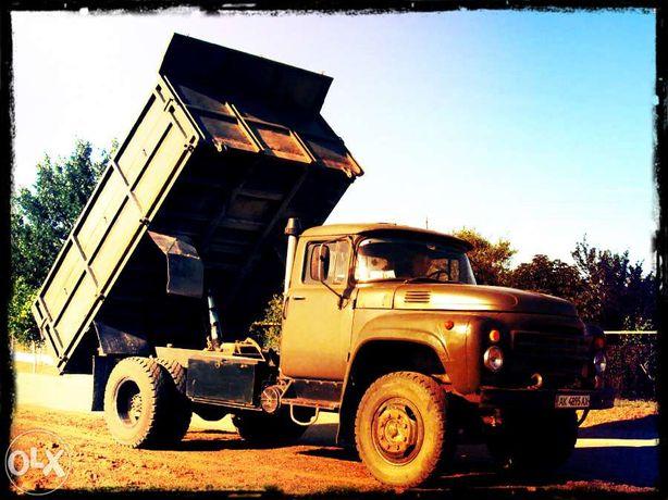 Песок щебень доставка Зіл МАЗ Daf (2-35 тонн)