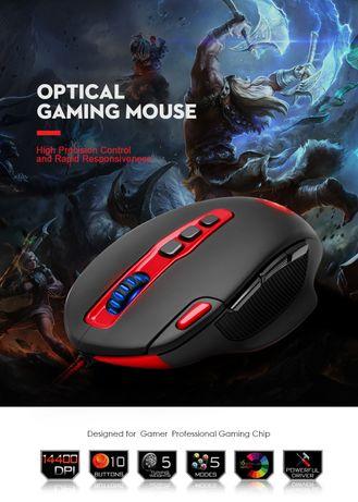 Мышь Redragon HYDRA M805 USB Проводная 14400 точек/дюйм,10 кнопок
