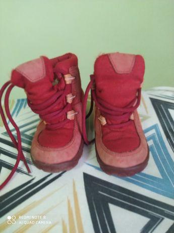 Зимові чобітки дутики