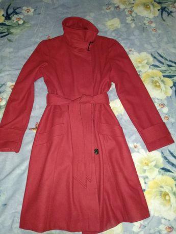 Красивое Красное Пальто Next 52р