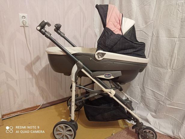 Детская коляска, автокресло 2 в 1 ( 0-12 м)