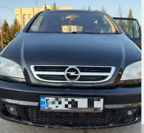 Opel zemfira 2002