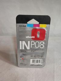 tusz kolorowy oryginalny, olivetti INP08
