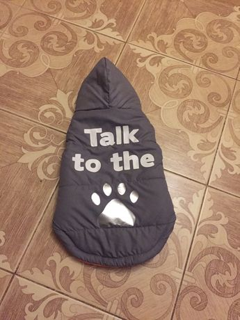 Тёплая одежка для собаки