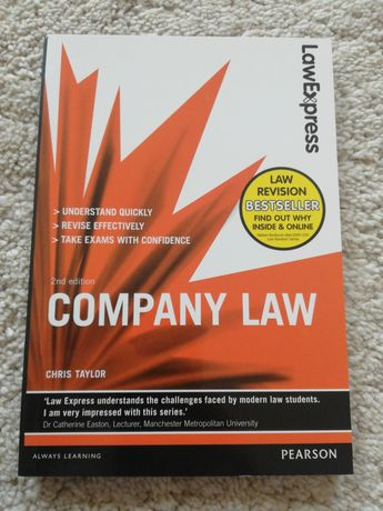 Company Law. 2nd edition. Chris Taylor