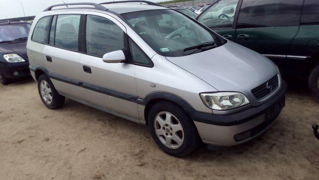 Opel Zafira Srebrna Benzyna CAŁA NA CZĘŚCI w Kolor Alusy NAJLEPSZE CEN