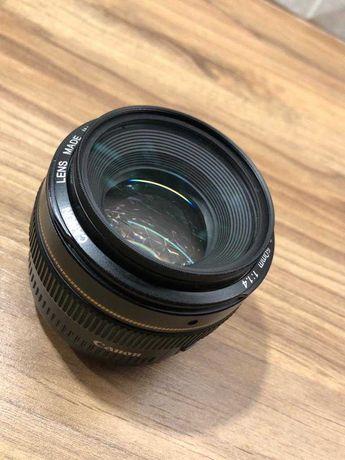 Obiektyw Canon 50mm F1.4 + filtr marumi MC UV