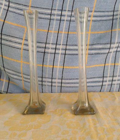 Мальцовское стекло. Парные вазы. 2 шт.