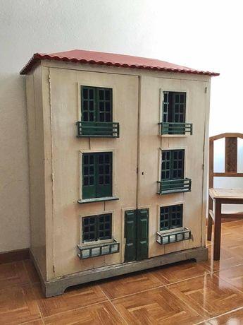 casinha boneca, antigo, vintage,  decoração, antiguidade, rustico