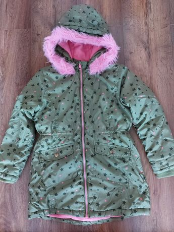 Zimowy płaszczyk dla dziewczynki