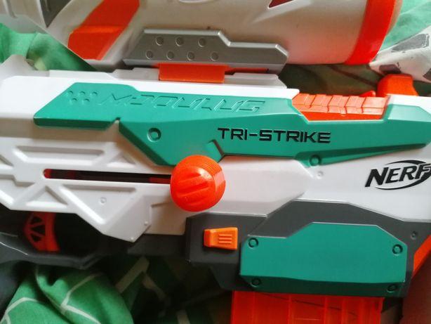 Nerf tri-strike 3częściowy