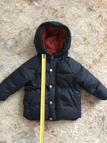 Zara baby куртка тёплая