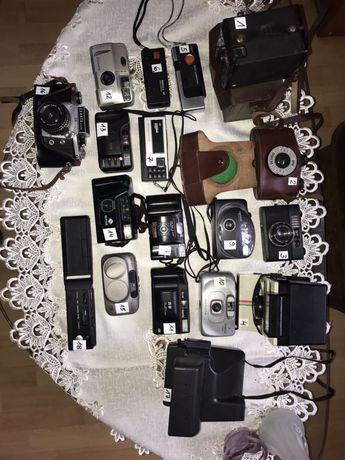 Kolekcja starych aparatów
