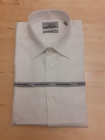 2 koszule meskie egipska bawelna super jakosc nowe 41/42