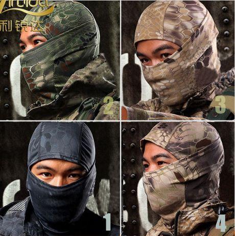 Балаклава - снайпер (Flecktarn) Змея/нинзя /камуфляж/подшлемник /маска