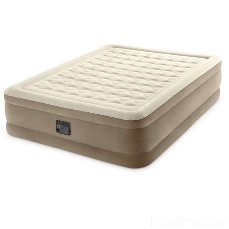 Двуспальная надувная кровать матрас с эл.насосом 203*152*46 см
