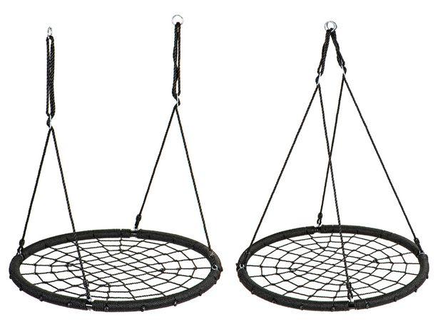 Huśtawka ogrodowa bocianie gniazdo pajęcza sieć 1m ECOTOYS #MIR8015