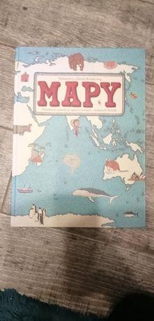 Mapy obrazkowa podróż po lądach morzach i kulturach świata dla dzieci