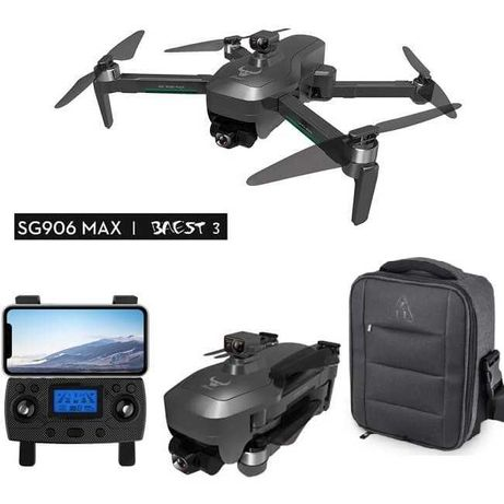 Квадрокоптер Дрон SG906 Pro 3 MAX с 4K и HD камерой GPS до 1,2км 26мин