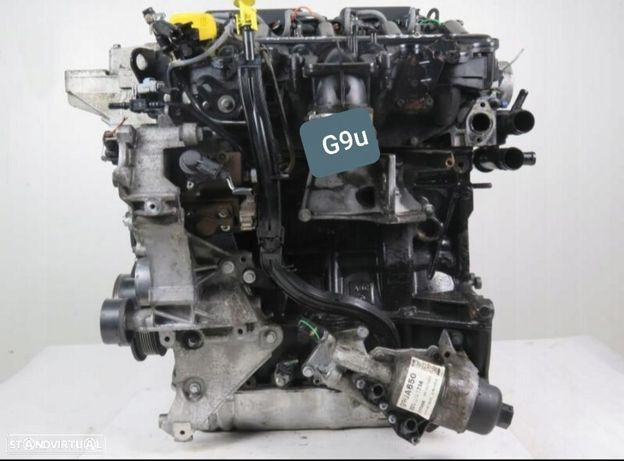 Motor Renault Master Trafic 2.5Dci Ref.G9U720 G9U724 G9U726 G9U750 G9U754