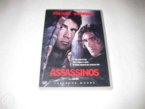 """DVD Filme """"Assassinos"""" com Stallone/Filme Raro"""