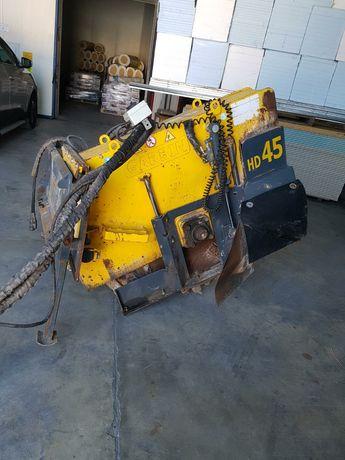 Frezarka, piła do cięcia betonu i asfaltu Wacker Neuson, Cat, Bobcat
